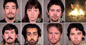 7 Antifa rioters charged with federal crimes after weekend of violent unrest in Portland
