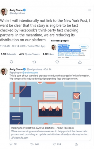 """EXCLUSIVE: Hunter Biden Emails Reveal Founder of Facebook's DC Office BANNED Accounts At Biden's Request As Family Made Millions From """"Silicon Valley Dems"""""""