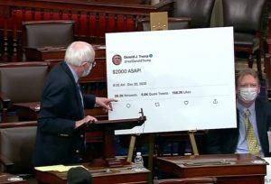 Senate Republicans Block $2,000 Stimulus Checks a Third Time