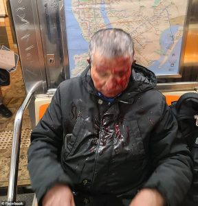 White Supremacist Attacks Elderly Asian Man On New York City Subway