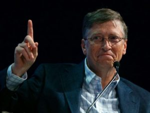 Bill Gates Wants to Use Planes to Spray Things in the Sky to Dim the Sun and Cool the Planet