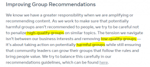 """More Censorship: """"Problematic"""" Facebook Groups Will Now Be Hidden From Recommended Lists, Banned"""