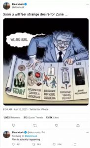 """This is Actually Happening"": Elon Musk Tweets Ben Garrison Cartoon Showing Bill Gates' 666 Plot"