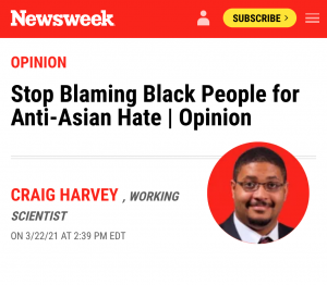 The Anti-Asian Attacks are the Pre-Show for Mass Anti-White Attacks