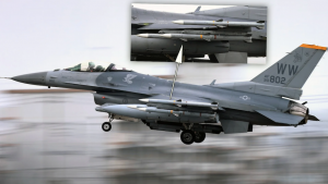US Air Force Flew Full-Loaded F-16s From Japanese Base to Menace China