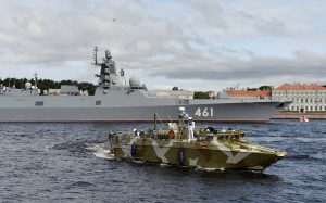 Russia Introduces Killer Navy, Putin Says They Can Repel Anyone