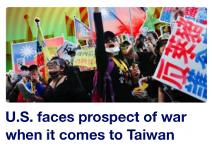 Yahoo! News Informs the Stupid Peasants Why the US Needs to Go to War to Protect Taiwan