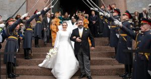 Russia: First Official Royal Wedding in Over a Century Takes Place in Saint Petersburg
